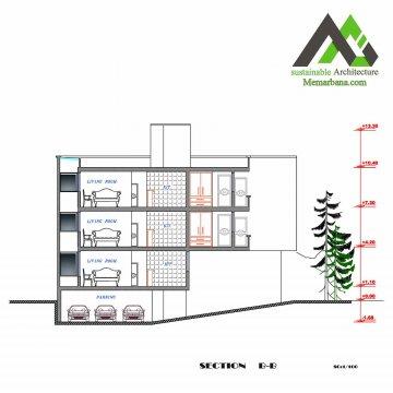 نقشه آپارتمان