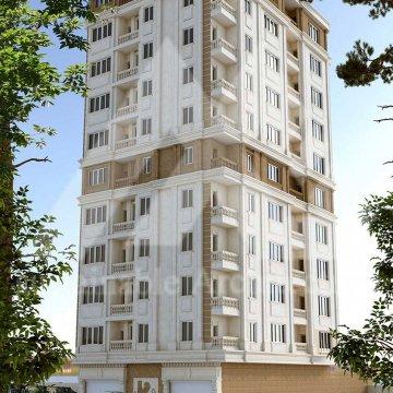 پلان مسکونی ده طبقه