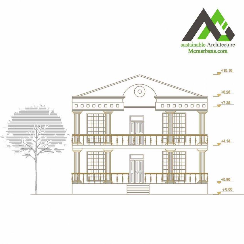 پلان اجرایی مسکونی
