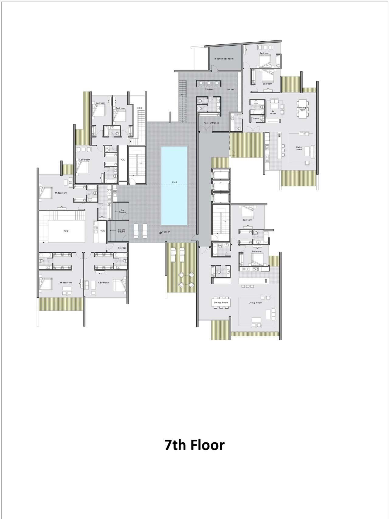 مجتمع مسکونی 14 طبقه متروپل