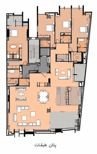 مجتمع مسکونی نه طبقه گراندو
