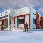 طراحی درمانگاه شهید آذرپیکان