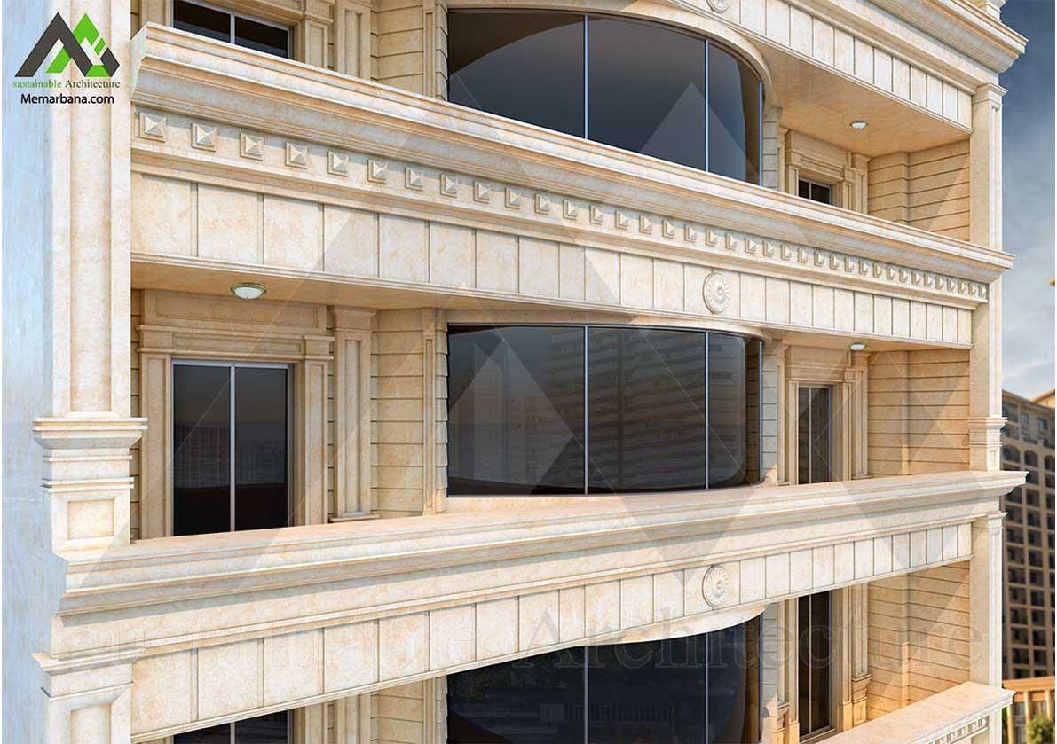 طراحی پروژه مسکونی مهندس ترحمی