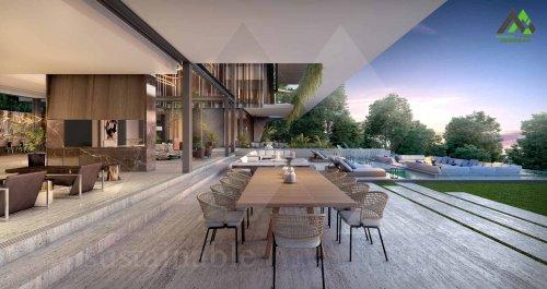 طراحی پلان ویلایی تریبلکس لوکس