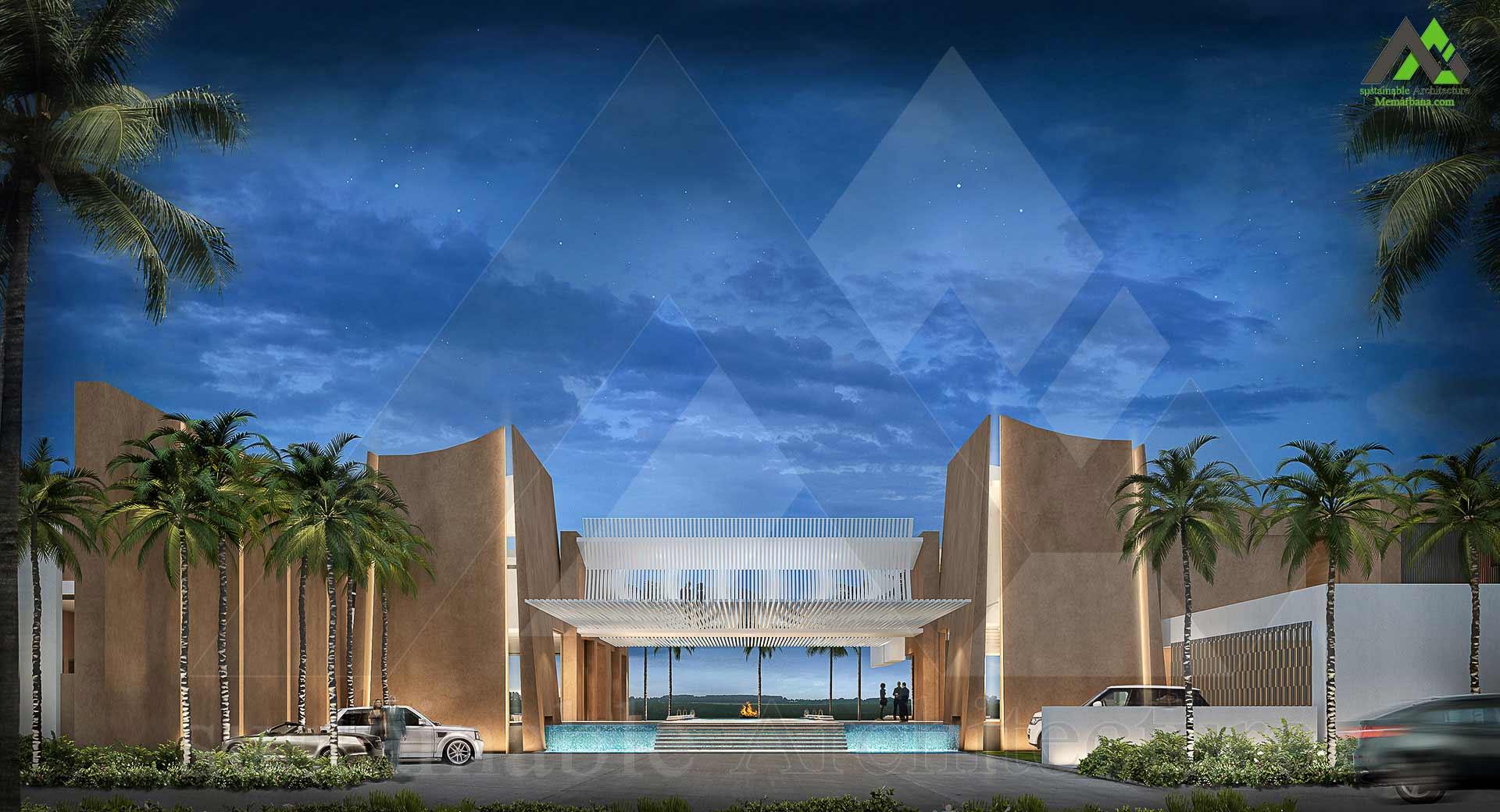 طراحی نقشه ویلایی لوکس سه طبقه