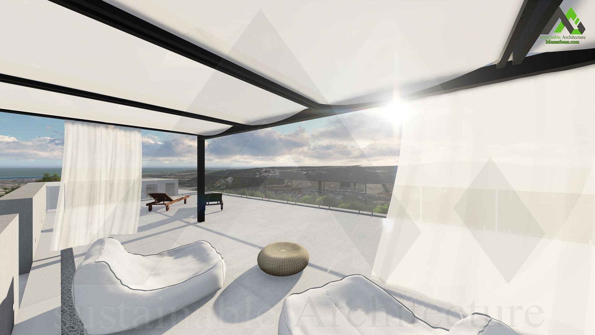 طراحی پلان خانه ویلایی چهار طبقه