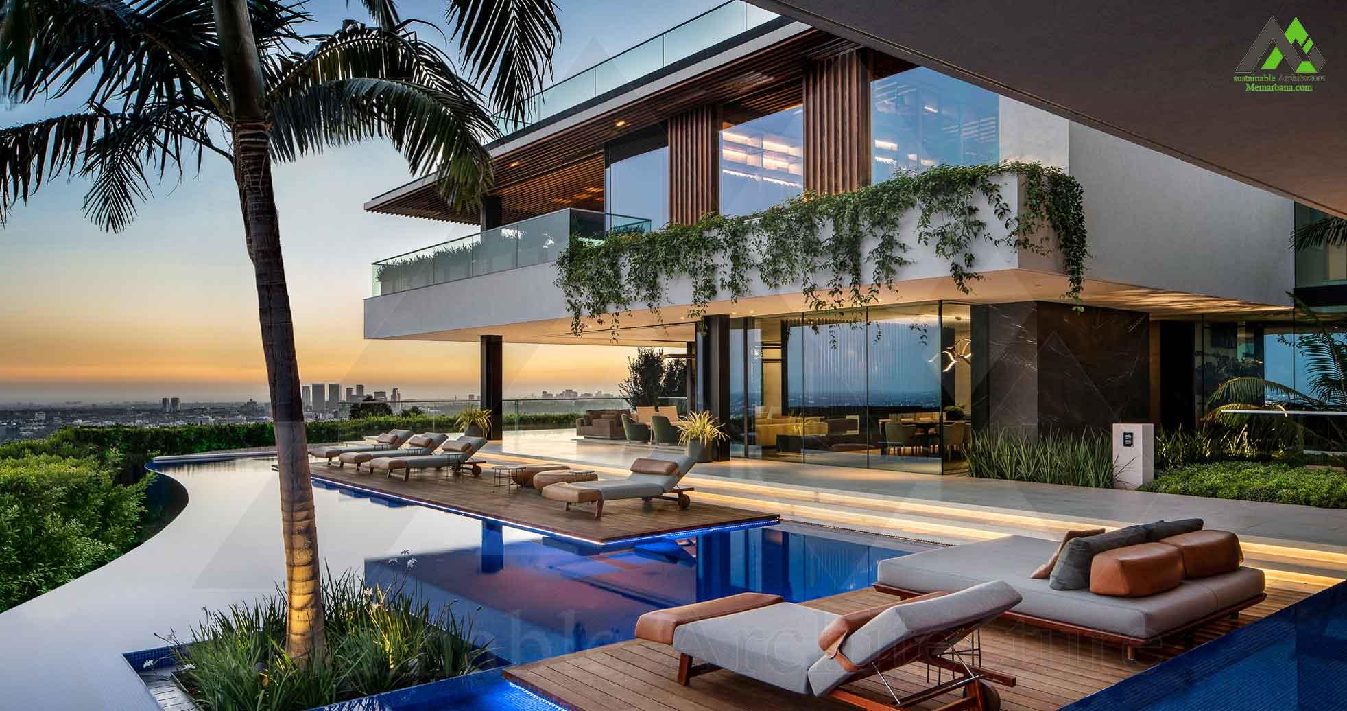طراحی پلان خانه ویلایی دوبلکس لوکس