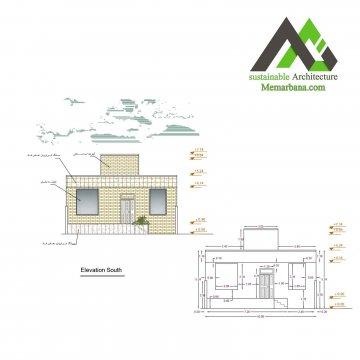 پلان اجرایی معماری عرض 10