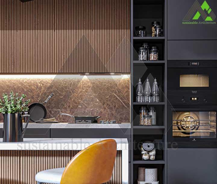 ویلا 3 طبقه مدرن و لاکچری