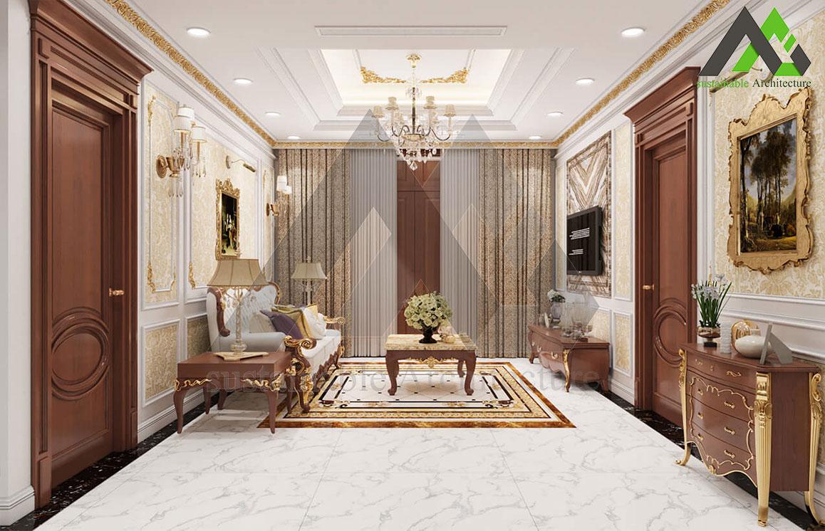 طراحی نما سبک کلاسیک